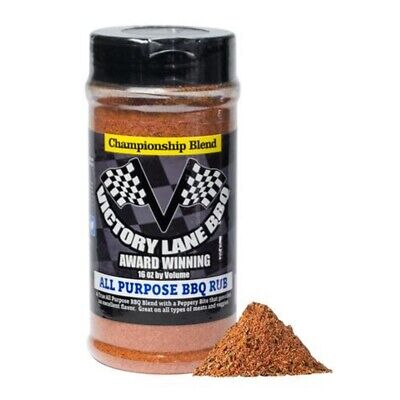 Used, Victory Lane BBQ - All Purpose BBQ Rub - Barbeque Seasoning Spices  for sale  Amarillo
