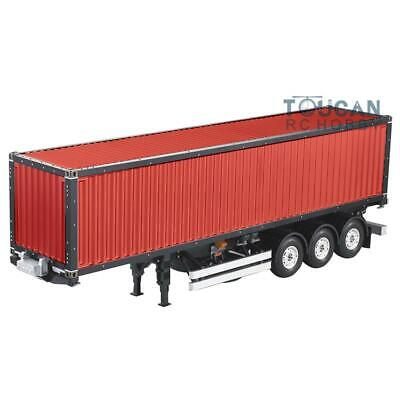 Hercules 1/14 RC DIY 40ft Container Chassis Semi Tractor Trailer Truck Painting for sale  China