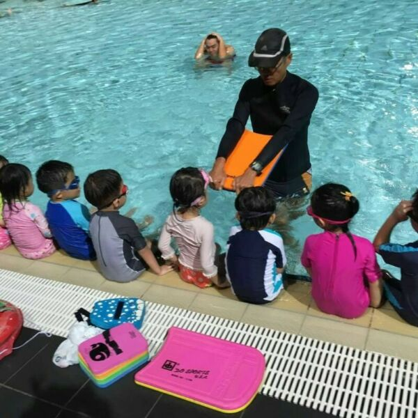 Swimming lessons for kids and adults