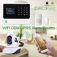 Security Alarm system Wifi and GSM