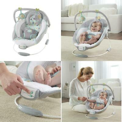 Baby Cradling Bouncer Musical Vibration Rocker Seat Infant T