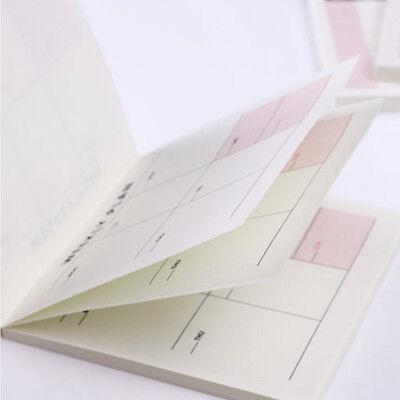 Weekly Monthly Work Notepad Planner Diary Agenda Memo Dokibooks Notebook