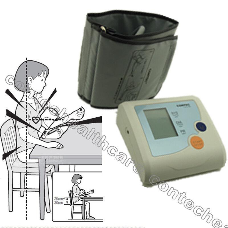 LCD Blood pressure monitor,Digital BP Meter with Large Displ