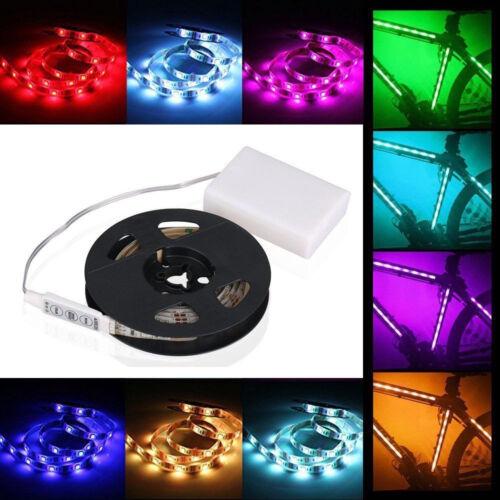 2M LED Stripe 5050 SMD RGB Leiste Streifen Band Lichtband Fernbedienung Netzteil