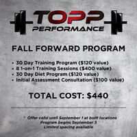 Personal Training/Diet Program