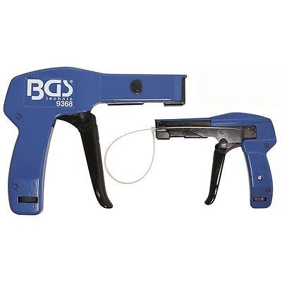 Kabelbinderzange 2.4 - 4.8 mm Kabelbinderpistole Kabelbinder Spann Werkzeug BGS