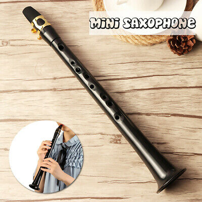 US Pocket Sax Mini Portable Saxophone Little Sax With Carrying Bag Woodwind W6D3