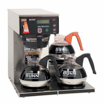 Bunn Axiom Medium Volume Decanter Coffee Maker - Automatic 4 15 Galhr 120v