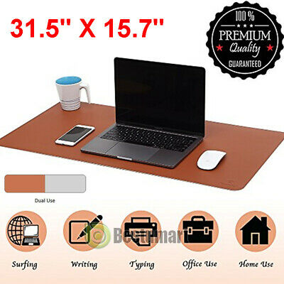 Non-slip Large Soft Gaming Mouse Pad Double-sided Used Keyboard Laptop Desk Mat