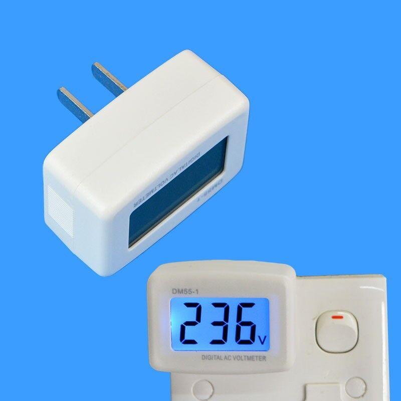 US/EU Plug Watt Voltage Meter Electricity Usage Monitor with Power Analyzer