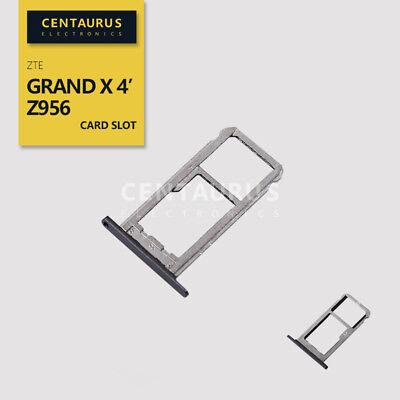USA For ZTE Z956 Grand X 4 SIM Micro SD Card Slot Memory Tray Holder Fix (Zte Grand X 4 Sd Card Slot)