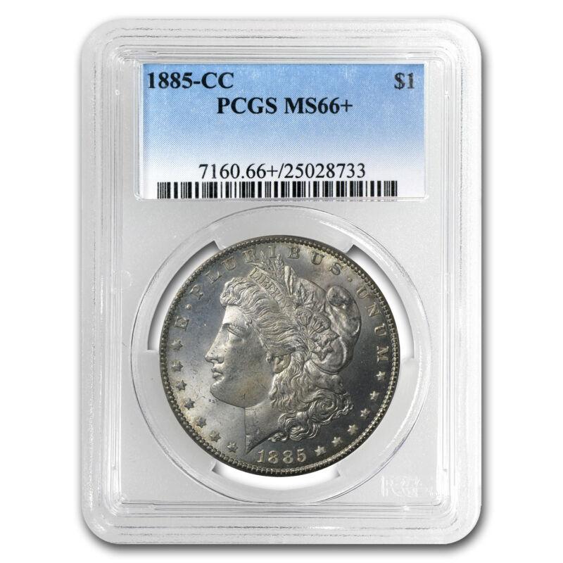 1885-CC Morgan Dollar MS-66+ Plus PCGS