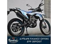 FB Mondial SMX 125cc Enduro Supermoto Dirt Bike Scrambler Style Motorcycle