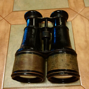 Antique, French, Marine Binoculars by Jumelle