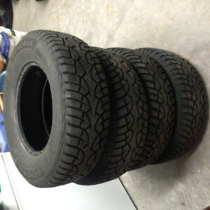 4 General Altimax Arctic winter tires