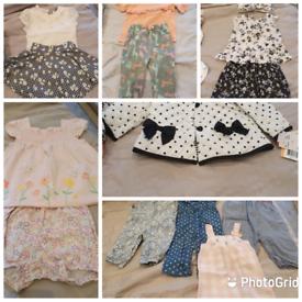 Girls 9 to 12 month bundle