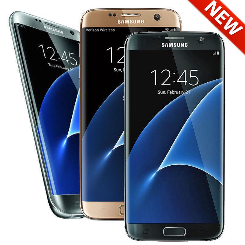 New Samsung Galaxy S7 Edge 32GB Unlocked AT&T TMobile Metro PCs Smartphone