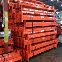 Used Redi Rack beams 9' For Industrial Pallet Racking