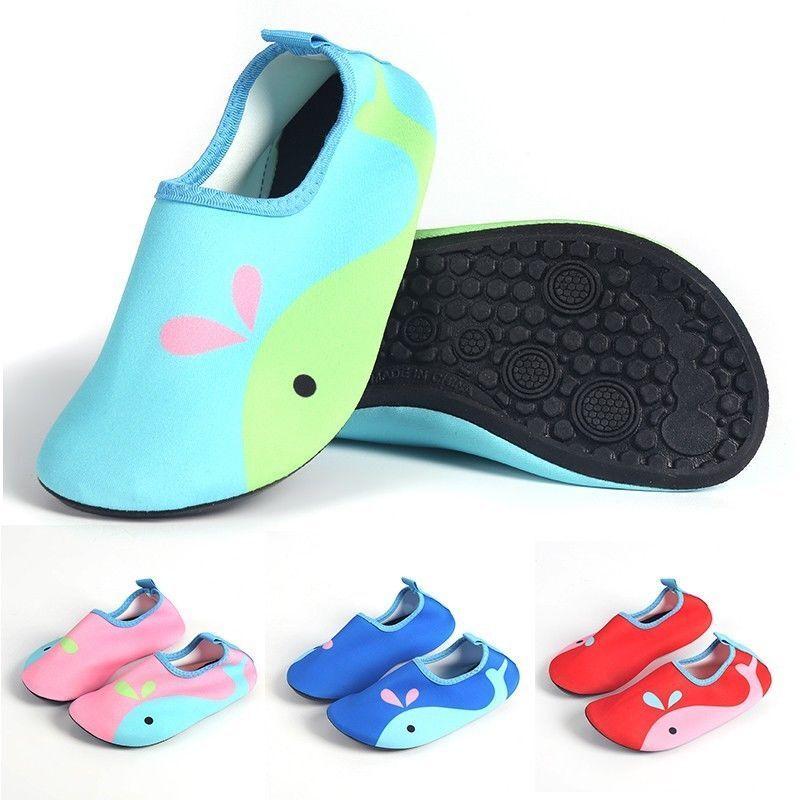 Kinder Badeschuhe Wasser Schuhe Strand Schuhe Aqua Schuhe Tauchen Schuhe Neu zr