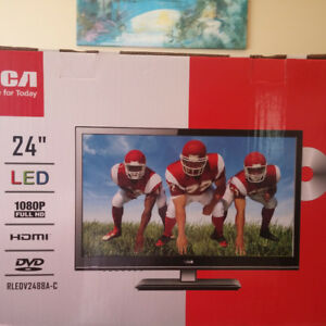 "RCA 24"" LED HD TV with DVD Player"