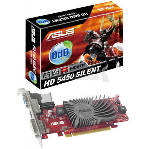 Selling ASUS AMD RADEON HD5450 Graphics Card (Carte Graphique)