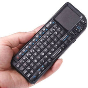 Mini Wireless Keyboard Touchpad Backlight For PC Smart TV Samsung LG Panasonic