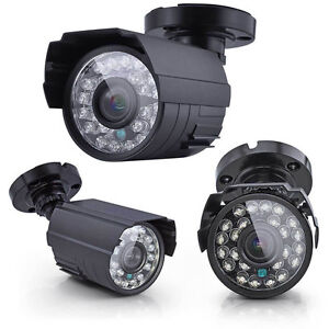 Outdoor Night Vision Camera 1300 TVL 3.6mm Lens