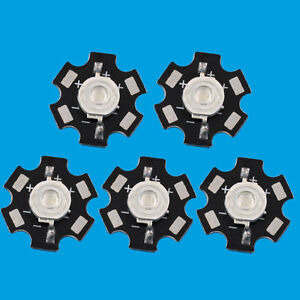 10-pcs-3W-Extreme-Royal-Blue-Power-LED-445nm-Plant-Grow-with-20mm-Star-Base