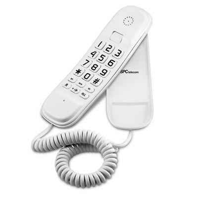 Telefono Telecom 3601V Gondola Monopieza de Cable Fijo - Blanco