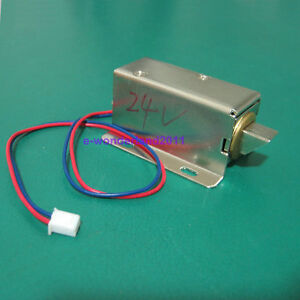 Cabinet-Door-Electric-Lock-Assembly-Solenoid-DC-24V-1-5A-FOR-Drawer-Sauna-Lock