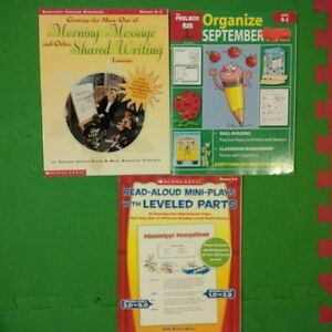 Lot of 7 Resources for teachers of Kindergarten or Primary