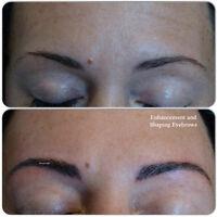 Feathering Technique________3D Permanent Makeup Eyebrow_____$300