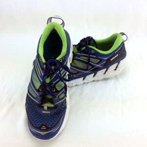 Mens 8.5 Hoka One One Running Shoes M Conquest 2 Sneakers Blue