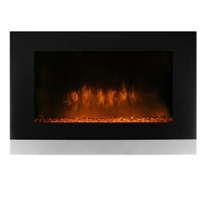 New in Box CorLiving FPE-206-F Wall Mounted Electric Fireplace