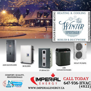 GAS FURNACE | DUCTWORK |  TANKLESS | BOILERS | AIR CONDITIONER