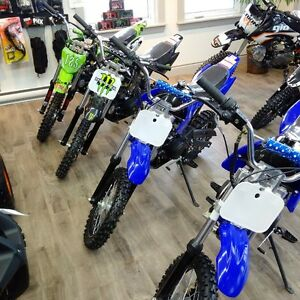CLEARANCE!!!NEW 125cc DIRT BIKES(PIT BIKES) NOW ONLY $799.99