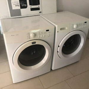 Frigidaire front load stackable washer dryer for sale
