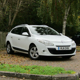 Renault Megane 1.5dCi Dynamique Tom Tom SAT NAV**RARE DIESEL AUTOMATIC**£20 TAX