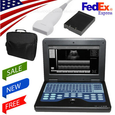 Usa Portable Handheld Digital Ultrasound Scanner Machine Linear Probe Oximeter
