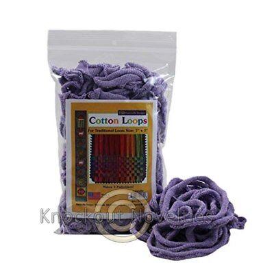 Cotton Loops - Lavender Old Fashion Pot Holder Loom 2 OZ  (Potholder Loom)