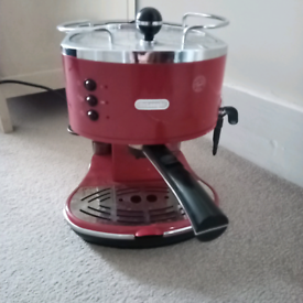 Delonghi espresso coffee machine with frother
