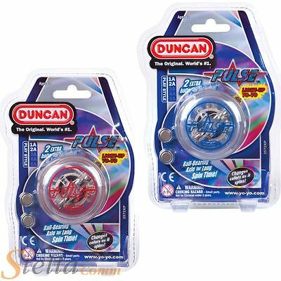 Duncan Pulse YoYo - LED Light Up High Speed Ball Bearing Axle Looping Yo-Yo