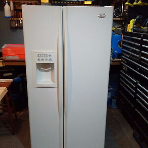 Fridge Freezer, large side by side, GE Profile