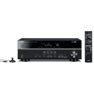 Yamaha HTR-3065 5.1 4K Receiver and NS-P20 speakers & subwoofer