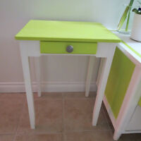 Beautiful restored side table