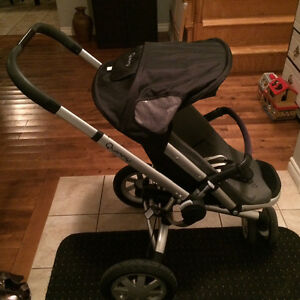 Quinny Buzz stroller in black/grey