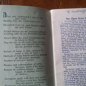 Open Road Song Book, 29 Songs, Pocket Size Kitchener / Waterloo Kitchener Area image 2