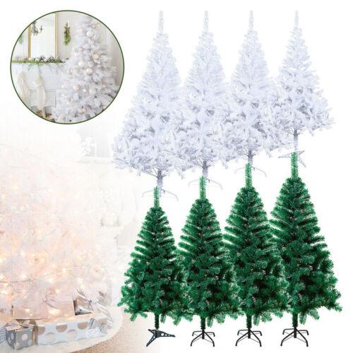 Weihnachtsbaum PVC Edeltanne künstliche Tanne Tannenbaum 120-220cm Christbaum