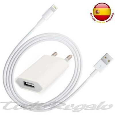 Adaptador Corriente Plano Cable 8 Pin para Iphone 5 5s iPod USB...