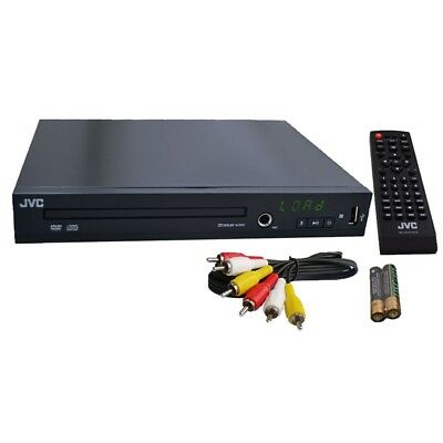 JVC Multi Region 110-240V DVD Player Dolby Audio Karaoke/USB/Divx Region Free